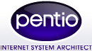 pentio | internet system architect