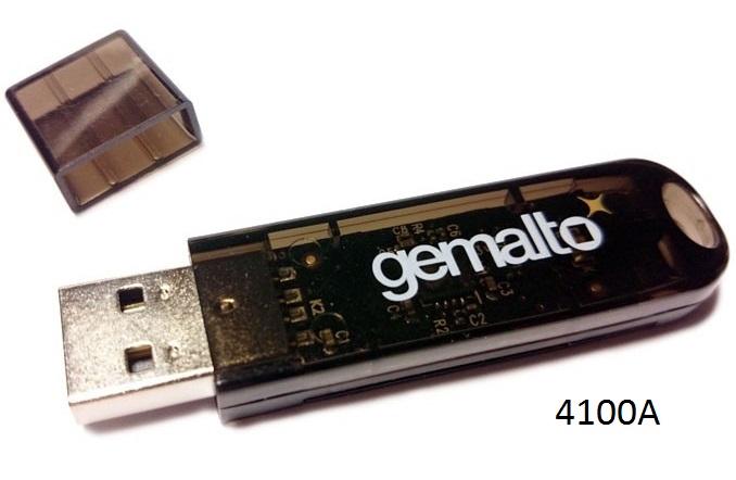 Pentio USB Token 4100A